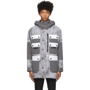 Colmar by White Mountaineering Grey Dyed Pockets Jacket