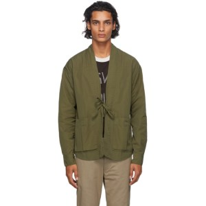 Visvim Green Lhamo Shirt