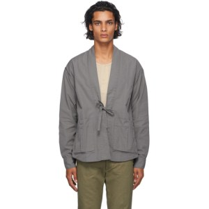 Visvim Grey Lhamo Shirt