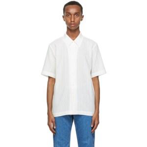 Sefr White Linen Formal Shirt