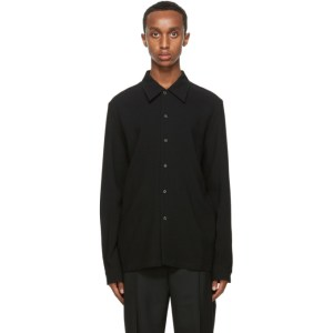 Sefr Black Wool Rampoua Shirt