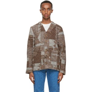 Sefr Multicolor Gote Patch Work Cardigan