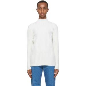 Sefr Off-White Wool Jay Turtleneck