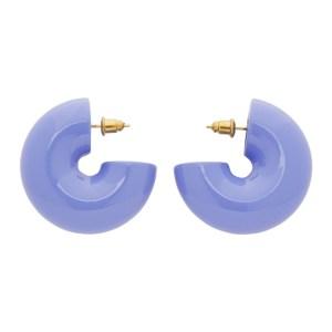 Uncommon Matters Purple Beam Earrings