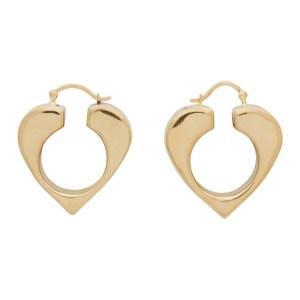 Uncommon Matters Gold Vermeil Vertex Earrings