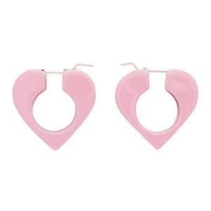 Uncommon Matters Pink Vertex Earrings