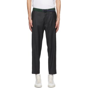 PRESIDENTs Grey Headlight Trousers