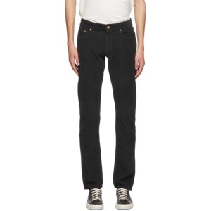 PRESIDENTs Grey Corduroy Icarus Trousers