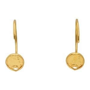Dear Letterman Gold Zahia Earrings
