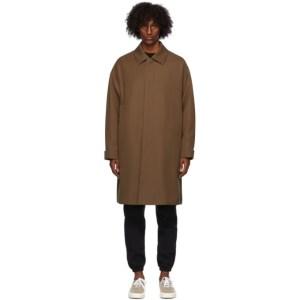 Fear of God Ermenegildo Zegna Brown Wool Trench Coat
