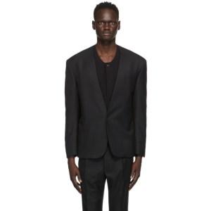 Fear of God Ermenegildo Zegna Black Wool Twill Single-Breasted Blazer