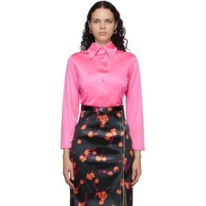 Meryll Rogge Pink Fluid Shirt
