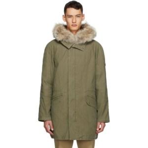 Yves Salomon - Army Khaki Fur Parka