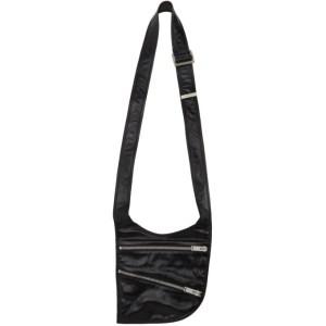 ADYAR SSENSE Exclusive Black Zipper Pocket Messenger Bag