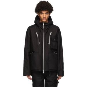 ADYAR SSENSE Exclusive Black Shell Jacket