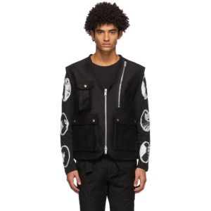 ADYAR SSENSE Exclusive Black Utility Vest