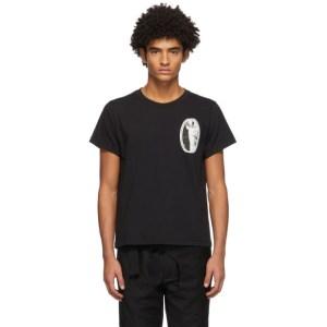 ADYAR SSENSE Exclusive Black Sheetnoise T-Shirt