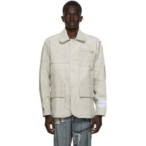 Mr. Saturday Grey Postal Bag Field Jacket