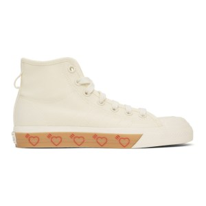 adidas x Human Made Off-White Nizza Hi Sneakers