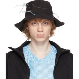 Saul Nash Black Tech Shape Shifter Bucket Hat