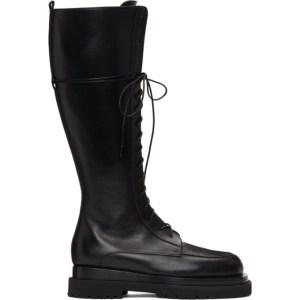 Magda Butrym Black Tall Combat Boots