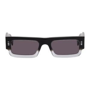 Marcelo Burlon County of Milan Black Logo Lowrider Sunglasses