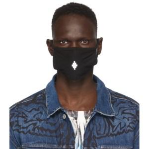 Marcelo Burlon County of Milan Black Cross Face Mask