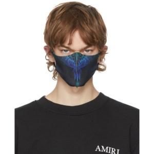 Marcelo Burlon County of Milan Three-Pack Black Active Face Masks