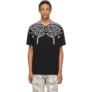 Marcelo Burlon County of Milan Black Snakes T-Shirt