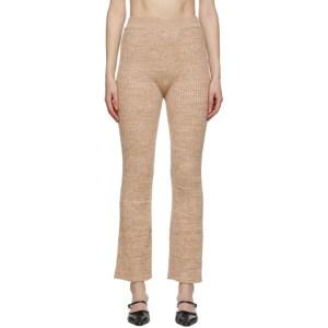 Anna Quan Beige Liza Lounge Pants