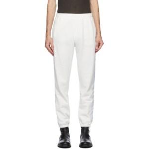 Haider Ackermann Off-White Logo Tape Perth Lounge Pants