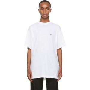 Haider Ackermann White Move Me T-Shirt