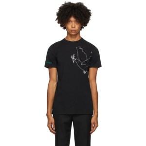 Haider Ackermann Black Dove T-Shirt