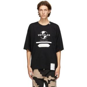 Miharayasuhiro Black Untitled T-Shirt