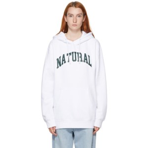 Museum of Peace and Quiet White Natural Hoodie
