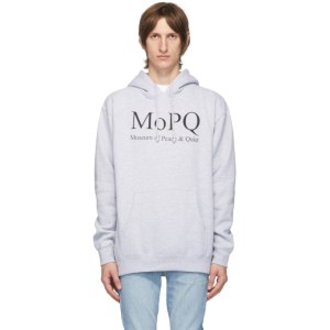 Museum of Peace and Quiet Grey MOPQ Hoodie