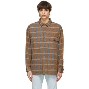 Levis Made and Crafted Brown Mountain Shirt
