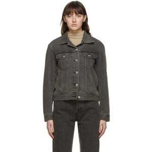 Blossom Black Denim Code Jacket
