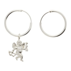 Georgia Kemball Silver Cupid Earrings
