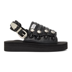 Toga Black Suicoke Edition Mura-SP Sandals