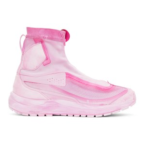 11 by Boris Bidjan Saberi Pink Salomon Edition High Bamba 2 Sneakers