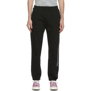 thisisneverthat Black SP-Logo Sweatpants