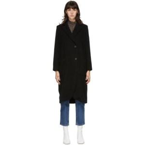Won Hundred Black Wool Shannon Coat