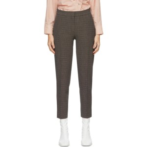 Won Hundred Brown Check Elissa Trousers