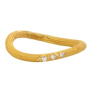 ELHANATI Gold Petite String Ring