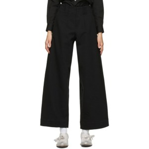 Toogood Black The Writer Trousers