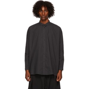 Toogood Black The Draughtsman Shirt
