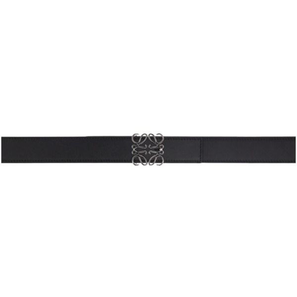 Loewe Black Anagram Belt
