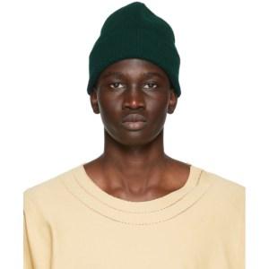 Harmony Green Wool Wayne Beanie