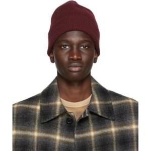 Harmony Burgundy Wool Wayne Beanie